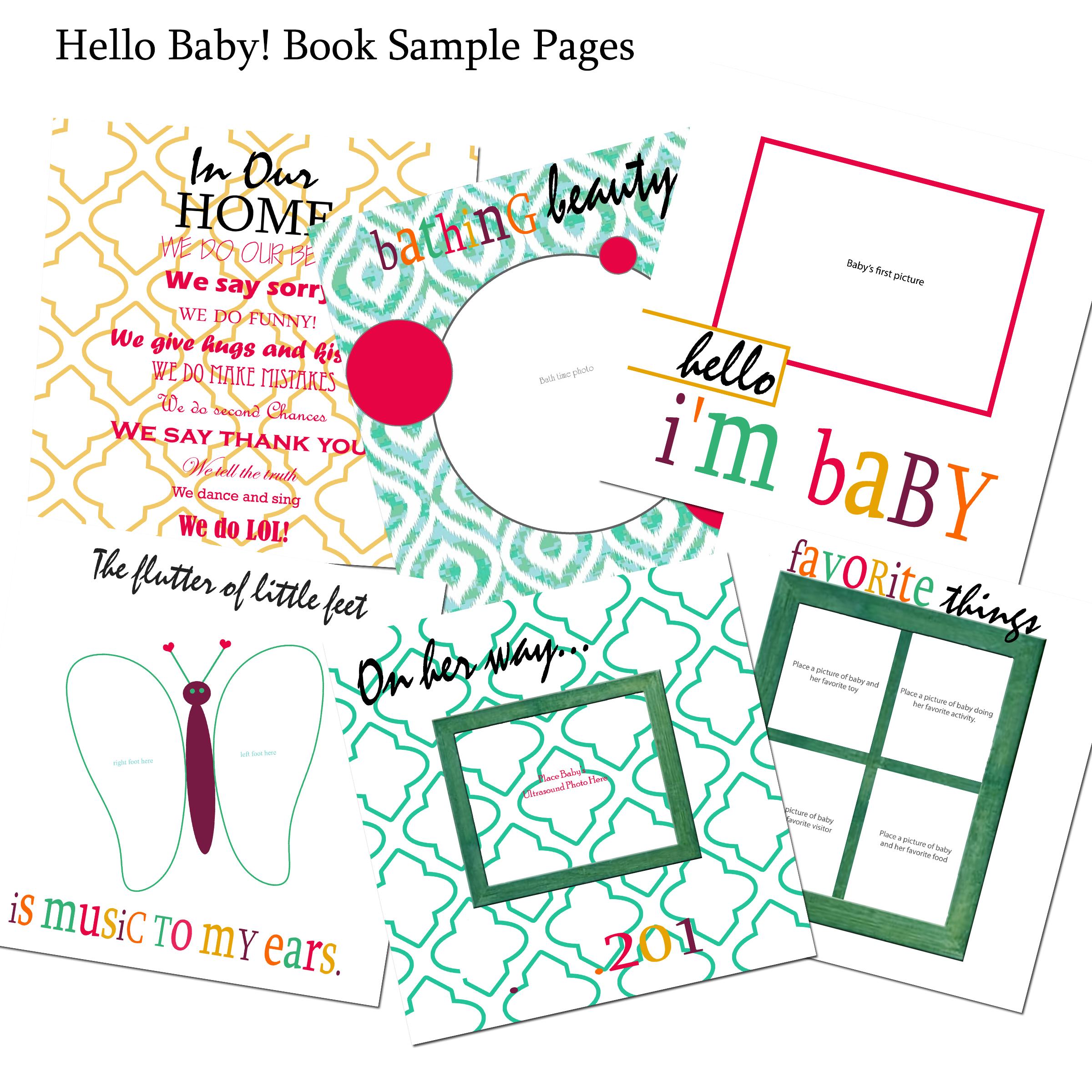 little man baby book